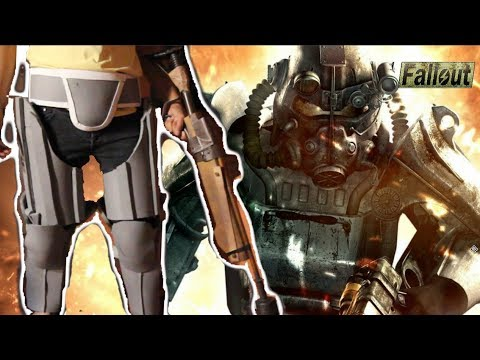 Building Fallout Power Armor Cosplay Part I Youtube