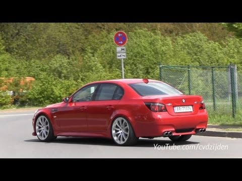Red Bmw M5 E60 Hartge Sound Youtube