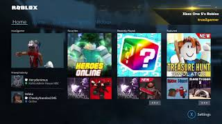 "Roblox: Xbox one Dashboard ""Look/Performance"""