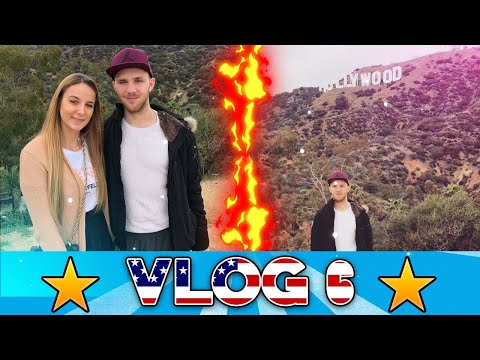 🍔 LOS ANGELES HOLLYWOOD SIGN VLOG | In&Out Burger und Engelsflügel