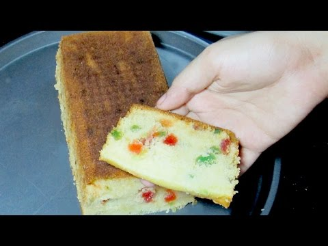 Tutti Frutti Cake - Fruit Cake Recipe - Tea Time Recipe