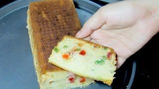 Tutti Frutti Cake - Fruit Cake Recipe