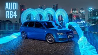 AUDI RS4 B7 AVANT 420BHP*  Driving around London 🔥🔥 wait for the tunnel 🙉🙉