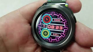 Samsung Gear S3/Gear Sport Digital Tron-like Watchface by Glace - FREE Coupon Giveaway too!