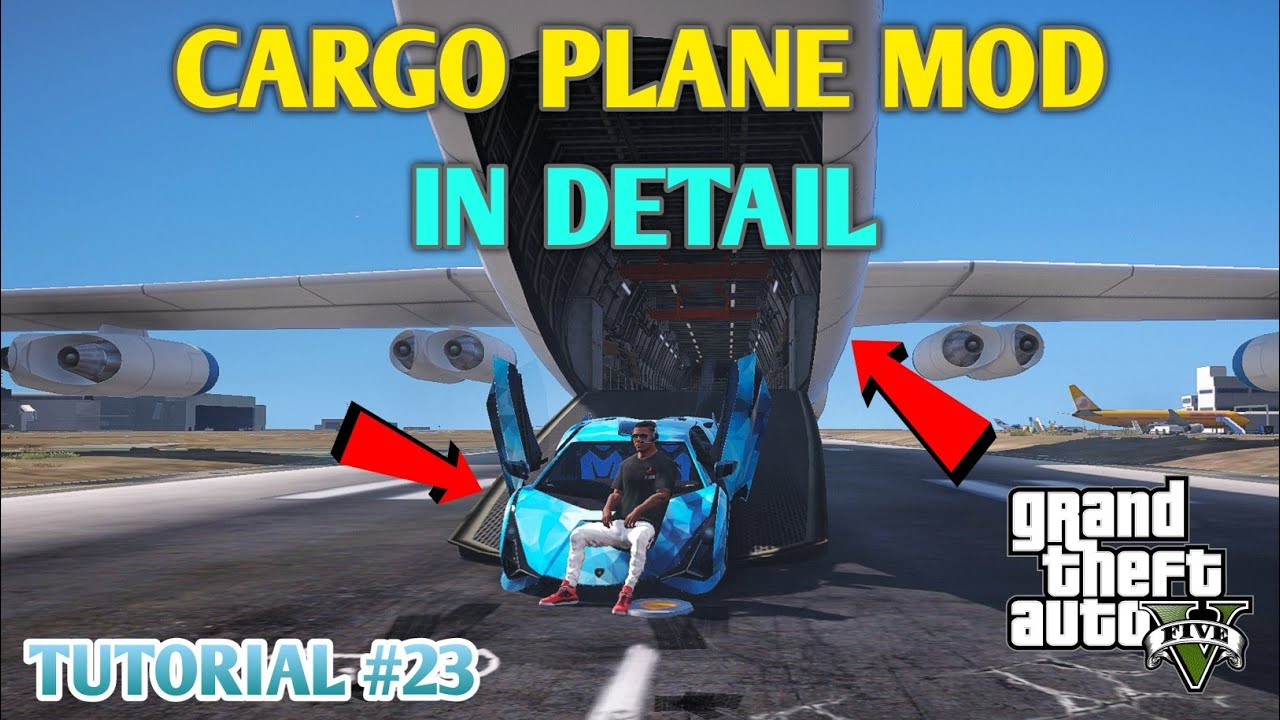 CARGO PLANE MOD | GTA 5 HINDI MOD TUTORIAL | #23 || GT GAMING