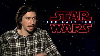 STAR WARS THE LAST JEDI Adam Driver Interview