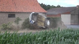 CRASHES Ypres Rally 207 DAY1