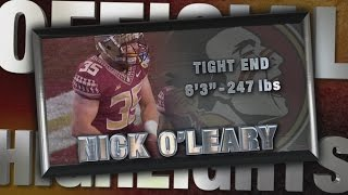 2014 Official Highlights | FSU TE Nick O'Leary