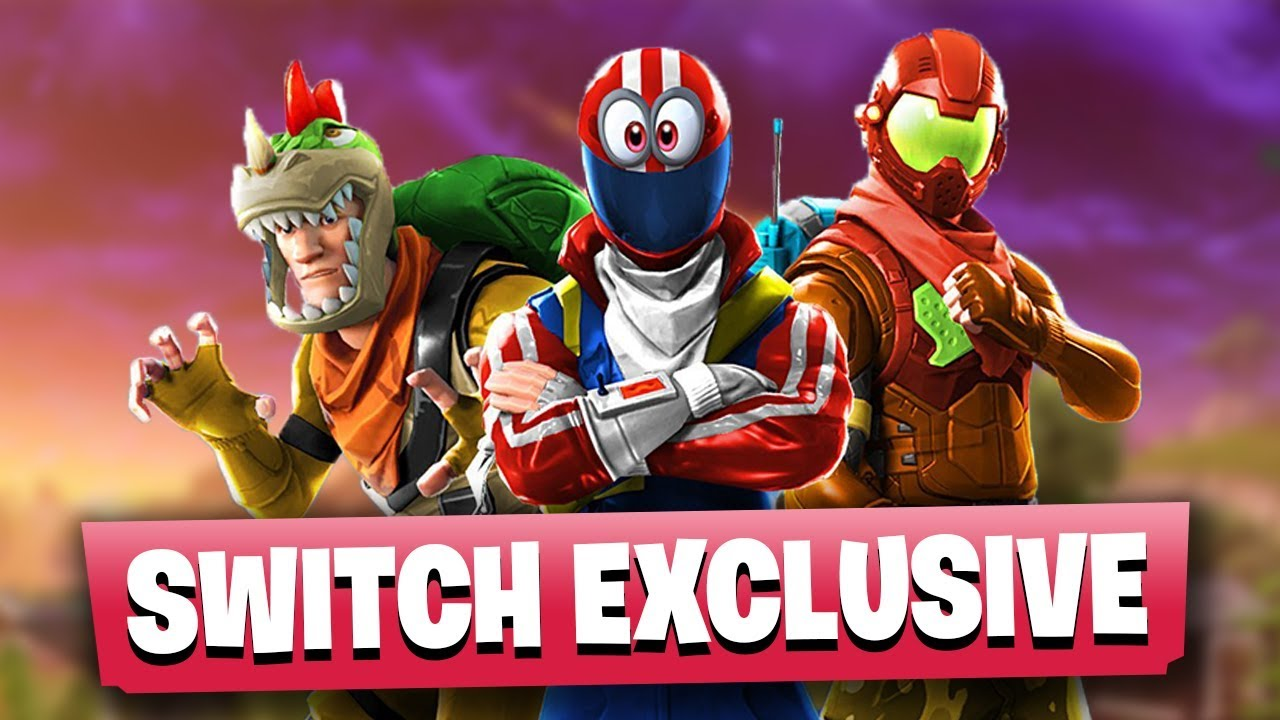 Leaked Fortnite Nintendo Switch Exclusive Skins Youtube