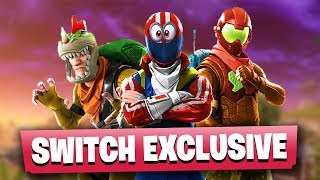 LEAKED Fortnite Nintendo Switch EXCLUSIVE Skins
