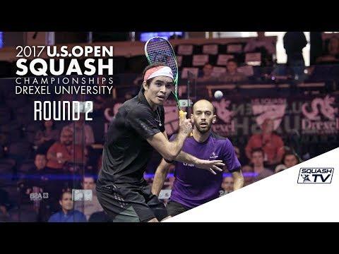 Squash: Men's Rd 2 Roundup Pt. 2 - U.S. Open 2017