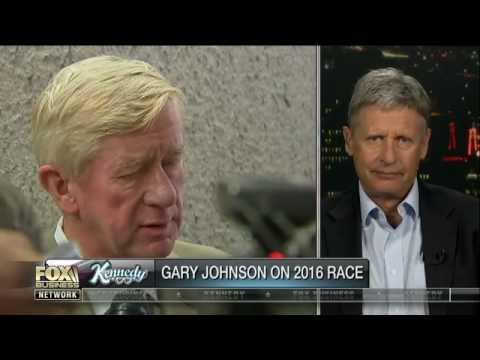Kennedy grills Gary Johnson on Bill Weld