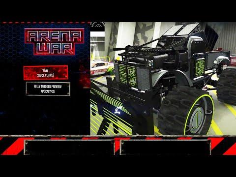 GTA Online: Arena War DLC - FUTURE SHOCK RAT-TRUCK [Full Upgrade]