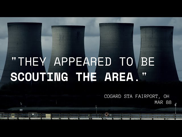 1980s Nuclear Plant-UFO Encounters: 'Scouting The Area'?