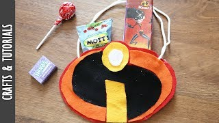 Incredibles Party Bag Tutorial, DIY, Party Decorations - The290ss