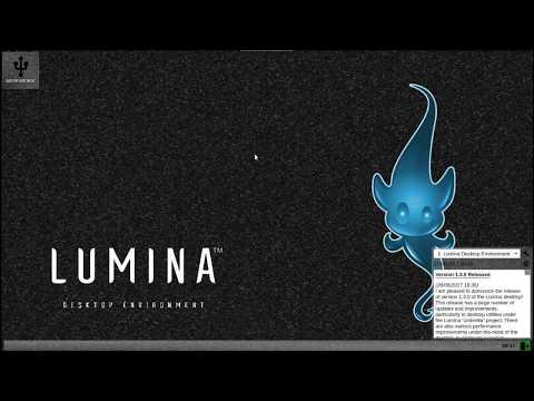 Lumina Desktop Environment 1.3 Run Through