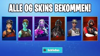 ALL OG SEASON 1 SKINS GRATUIT! ( GHOUL TROOPER , RECON EXPERT ) ..! Fortnite Fortnite