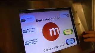 Как купить билет в метро или автобус в Испании. Валенсия 2014.(, 2014-02-16T15:10:24.000Z)