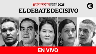 🔴Debate presidencial de El Comercio-IDEA Internacional - #TúDecides