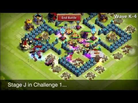 Castle Clash: Here Be Monster Challenge 1 Vs 2