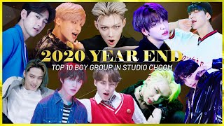 [STUDIO CHOOM & CHILL] 2020 BEST BOY GROUP TOP 10 *Most viewed* (4K)