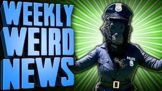 Gorilla Cop Saves The Day! - Weekly Weird News