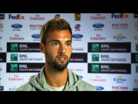 Rome 2013 Friday Interview Paire