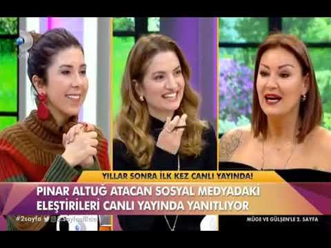 Pınar Altuğ'dan sosyal medya açıklaması