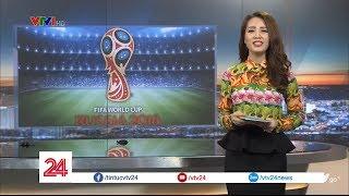 CHÍNH THỨC: Đài THVN đạt thỏa thuận với FIFA về bản quyền truyền thông World Cup 2018 -Tin Tức VTV24