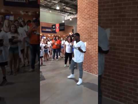 Performing at the Houston Astros game!
