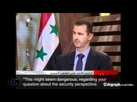 Syria: President Assad in defiant television interview