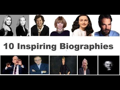 10 Inspiring Biographies