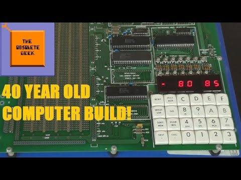 Building a 40 Year Old Computer - Obsolete Geek