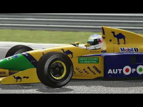 Assetto Corsa - ASR Benetton B191 v. .3 Beta - Hotlaps at Silverstone