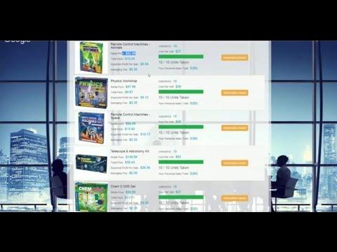 Как работает Infinii, продажи на амазон и e-bay, интернет бизнес