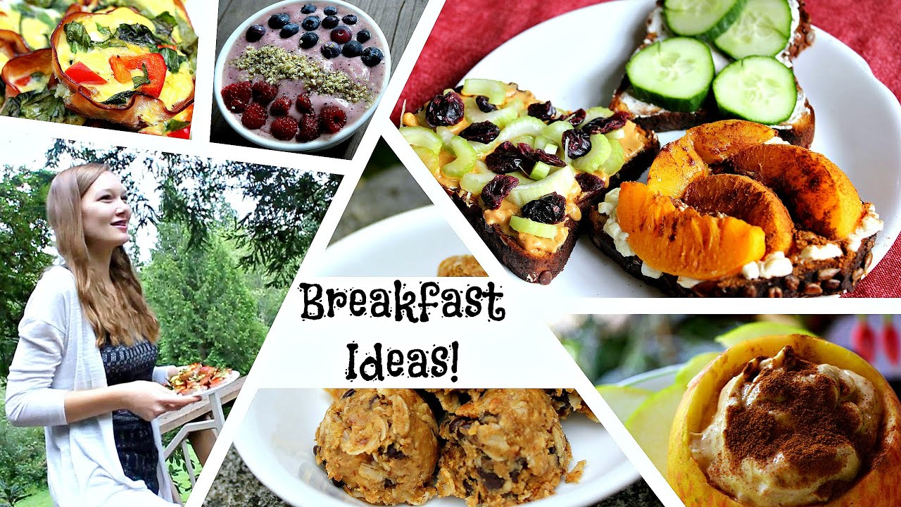 8 healthy breakfast ideas for back to school youtube 8 healthy breakfast ideas for back to school forumfinder Image collections