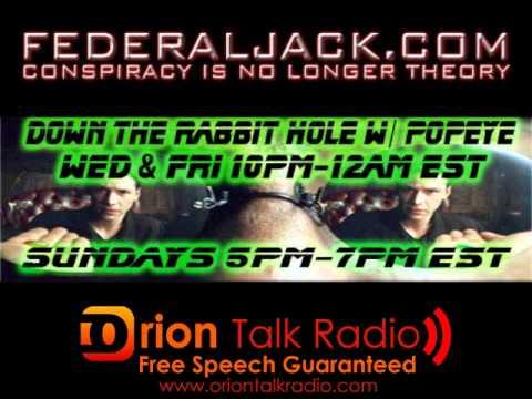 Down The Rabbit Hole w/ Popeye (09/18/2011) Susan Lindauer: Libya, Pan Am 103, & Death Threats