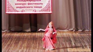 Настенька Карпова - индийский танец!