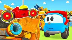 Zeichentrickfilm mit Leo dem Lastwagen. Der Schrottplatz. Kindercartoon auf Deutsch.