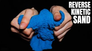 Kinetic Sand in Reverse | Most Satisfying Kinetic Sand Video