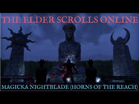 The Elder Scrolls Online; Magicka Nightblade DPS (Horns of the Reach)