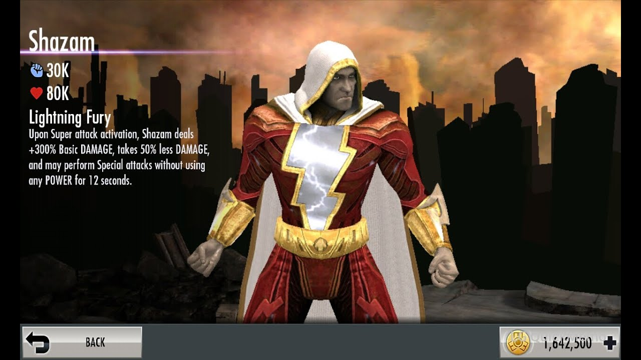 Injustice Mobile on Android: Shazam's super move - YouTube