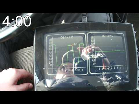 Нужна помощь. Проверка второй лямды(датчика кислорода)  с помощью ELM327 или Лексии - Смотреть видео без ограничений