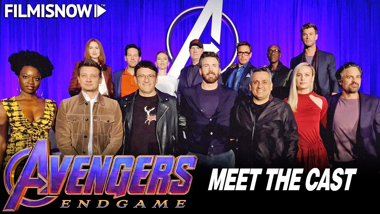 AVENGERS: ENDGAME   Meet & Greet with Cast & Directors - Global Press  Conference