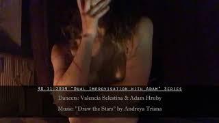 """Draw the Stars"", Andreya Triana - Duet Dance Improvisation by Valencia & Adam (Berlin, Germany)"