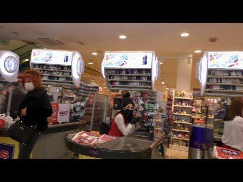 Ереван, 19.04.20, Su, День 25-ый, В Едем к Исаакян+Абовян, В супермаркете, Video-2.