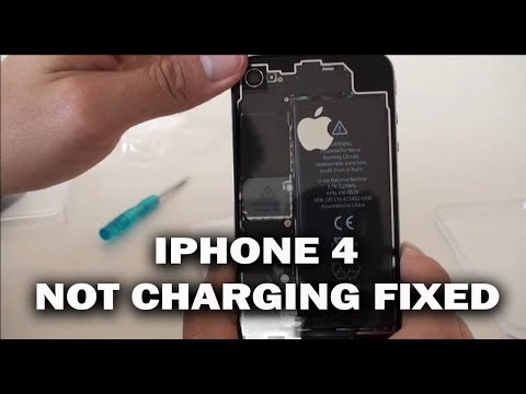 iphone only charges when off iphone 4 not charging fix repair 17683