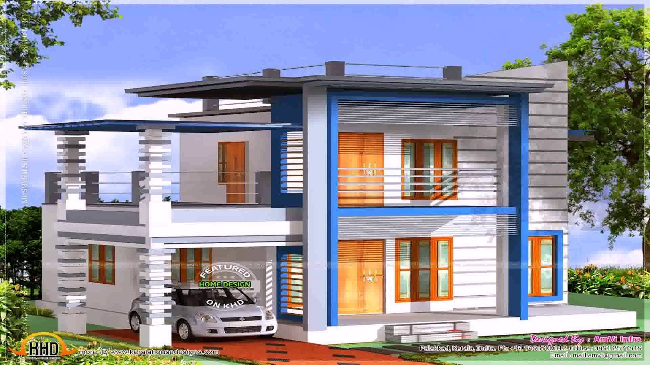 House Plans Indian Style For Duplex - YouTube