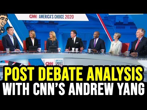 Post Debate Analysis With CNN's Andrew Yang
