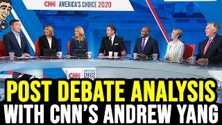 Post Debate Analysis with CNN's Andrew Yang